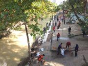 Komunitas Peduli Lingkungan di Medan Bersih-bersih Sungai, Kumpulkan Satu Ton Sampah