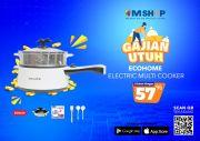 Segera Unduh eMShop! Ada Diskon 82%, Masak Praktis ala Anak Kost dengan Electric Multicooker
