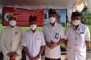 Waskita Bangun Gedung Majelis Desa Adat di Kabupaten Klungkung Bali