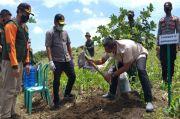 Perhutani Gandeng TNI/Polri Tanam Bibit Buah di RPH Banyuurip Sragen