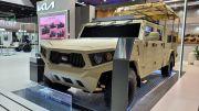 Mobil Perang Baru Buatan KIA Tunjukkan Diri di Abu Dhabi