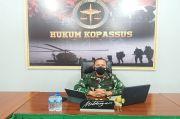 HUT ke-69 Korps Hukum TNI AD, Kopassus Ikuti Seminar Soal Kondisi Darurat Negara