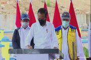 Resmikan Bendungan Napun Gete, Jokowi Yakin Provinsi NTT Akan Makmur