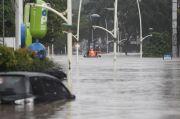 Meski Banjir, BPTJ Klaim Kondisi Terminal Bus Jabodetabek Aman