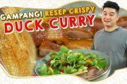 Chef Arnold Bongkar Cara Bikin Bebek Crispy Rasa Kari