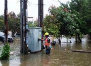 500 Gardu Menyala, Listrik Terdampak Banjir DKI Jakarta Pulih