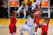 Hasil Pertandingan NBA, Selasa (23/2/2021): Wizards Nodai Kandang Lakers