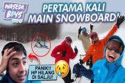 Asyiknya Bermain Snowboard di Salju, Begini Persiapannya Biar Tidak Saltum