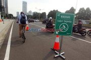 Bakal Selesai Bulan Depan, Jalur Sepeda Telan Anggaran Rp30 Miliar