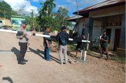 Ganggu Pengerjaan Jalan Tol Padang Sicincin, Portal di Jalan Nagari Kasang Akhirnya Dibongkar Aparat