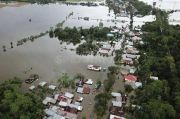 Bulog: 32 Hektar Lahan Sawah Terendam Banjir