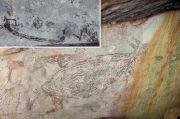 Lukisan Kanguru di Atas Batu Ini Tertua di Australia