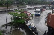 Jalan Kaligawe-Genuk Semarang Terendam Banjir, Pantura Tersendat