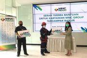 Dapat Bantuan Langsung dari MNC Peduli, Karyawan Korban Banjir Jakarta Ucapkan Banyak Terima Kasih