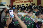 Kapolres Jakbar Iringi Kepulangan Jenazah Anggota TNI dari RS Kramat Jati