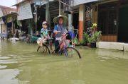 Banjir Jilid 2 Terjang Lamongan, Luapan Anak Bengawan Solo Rendam 62 Desa