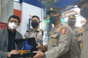 Tegakkan Protokol Kesehatan, Satpam BRI di Makassar Dapat Apresiasi Polri