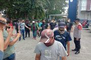 Sering Memaksa, Sindikat Juru Parkir Liar Stasiun LRT Ampera Palembang Disikat