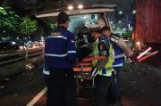 3 Mobil Mewah Terlibat Kecelakaan di Tol Semanggi