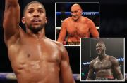 Tyson Fury Frustrasi Berat gara-gara Anthony Joshua dan Wilder