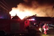 Kebakaran Dahsyat di Ogan Ilir, Diduga dari Penampungan Minyak Ilegal