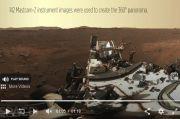 Takut Keduluan Kapal Ruang Angkasa China, Perseverance Kirim Foto HD Mars