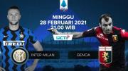 Live Streaming RCTI Plus: Inter Milan vs Genoa