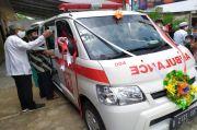 Komunitas Angkatan 86 Serahkan Bantuan Ambulans untuk Masjid Abdurrahman Al-Athiq Bogor