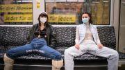 Gempar, Wanita Buka Kaki Lebar-lebar di Depan Pria di Kereta Berlin
