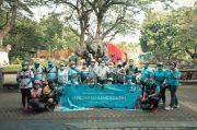 SIER Gowes ke Kebun Binatang Surabaya, Angkat Gajah Sumatera Jadi Anak Asuh