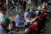 Yayasan-Komunitas Sosial Goyong Rorong Gelar Donor Darah dan Screening Donor Plasma Konvalesen