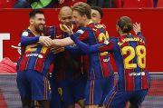 Permak Sevilla, Pique Bicara Peluang Barcelona Rebut Dua Gelar Domestik