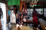 Banjir Terjang Panti Rehabilitasi, Pengurus Panti Berjibaku Evakuasi Pasien Gangguan Jiwa