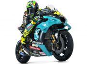 Tim Baru, Rossi Justru Mejeng dengan Helm Lama Rp24 Juta