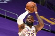 Hasil Lengkap Pertandingan NBA 2020/2021, Senin (1/3/2021): Dominasi Lakers atas Warriors