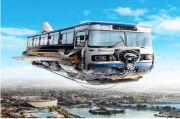 Viral, DAMRI Terbang Futuristik Bikin Mahasiswa Jatinangor Nostalgia