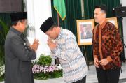 Hadiri Pelantikan Pj Sekda Kabupaten Bandung, Dadang-Syahrul Gunawan Sampaikan Harapan Ini