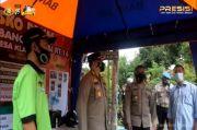 Melalui Aplikasi Online, Polisi Bondowoso Awasi Ketat Pelaksanaan PPKM