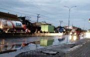 Banjir di Genuk Surut, Arus Lalu Lintas Pantura Lancar
