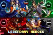 Dynasty Scrolls, Game RPG Berbasis Kartu, Hadirkan 4 Pahlawan Baru
