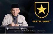 Partai Ummat Dideklarasikan 17 Ramadhan 1442 Hijriah