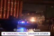 Kecelakaan Truk Trailer di Jakarta Utara, Netizen Sebut Tanjung Priok Sarangnya Kontainer