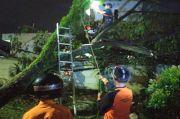 Puting Beliung Terjang Leuwiliang Bogor, Puluhan Rumah Rusak
