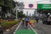 Polda Metro Jaya Terjunkan Personel Jaga Jalur Sepeda Sudirman-Thamrin