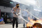 Kejari Makassar Musnahkan Barang Bukti dari 410 Perkara Pidana