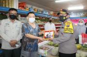 Tegur Pengunjung Tak Pakai Masker, Karyawan Toko Buah Didatangi Kapolresta Pematangsiantar