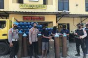 Polisi Ringkus Komplotan Pencuri Tabung Oksigen di Penjaringan
