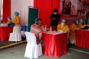 Puluhan Pedagang di Pasar Cinde Menolak Divaksinasi