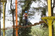 Nikmati Keindahan Lido Lake Resort, Jelajahi Taman Outbound Terbesar Secara Gratis, Ada Flying Fox Sepanjang 300 Meter!
