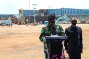 Kemenhan Luncurkan Dua Kapal Angkut Tank Produksi dalam Negeri